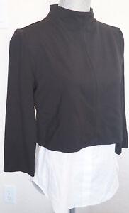 Mireena Sweater 235 Look Ponte M Bluse Layered Gracila New Theory Black 8nfxUIIT