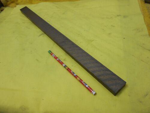 "AMPCO 18C BEARING BRONZE BAR machine shop flat stock 1//2/"" x 1 1//4/"" x 20 3//4/"" OAL"