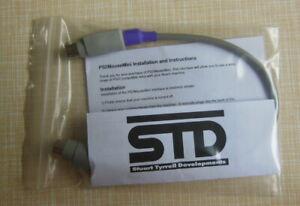 2 X Long Std Ps2 De Quadrature Souris Adaptateur-acorn Archimedes A3000 A305 A5000-afficher Le Titre D'origine