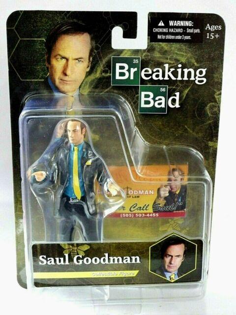Figurine Breaking Bad Saul Goodman 2014 Mezco Toyz Collector 16 cm Figure New