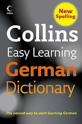 Collins, Collins Easy Learning German Dictionary (Collins Easy Learning German)