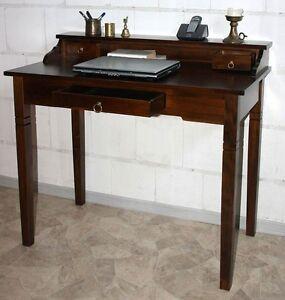 sekret r konsolentisch schreibtisch holz massiv wenge. Black Bedroom Furniture Sets. Home Design Ideas