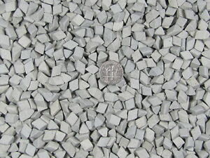Ceramic-Tumbling-Media-5-Lbs-1-4-034-X-1-4-034-Fast-Cutting-Grey-Abrasive-Triangle