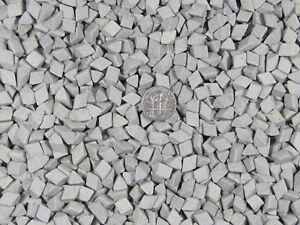 Ceramic-Tumbling-Media-1-Lbs-1-4-034-X-1-4-034-Fast-Cutting-Grey-Abrasive-Triangle