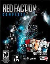 RED FACTION COMPLETE - Original + II + Guerilla + Armageddon + Path to War DLC