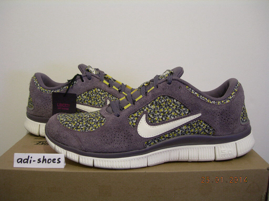 2012 Nike Free Run + 3 Ext 5.0 Liberty of London Taille 44 US 11,5 Leopard 540860-500