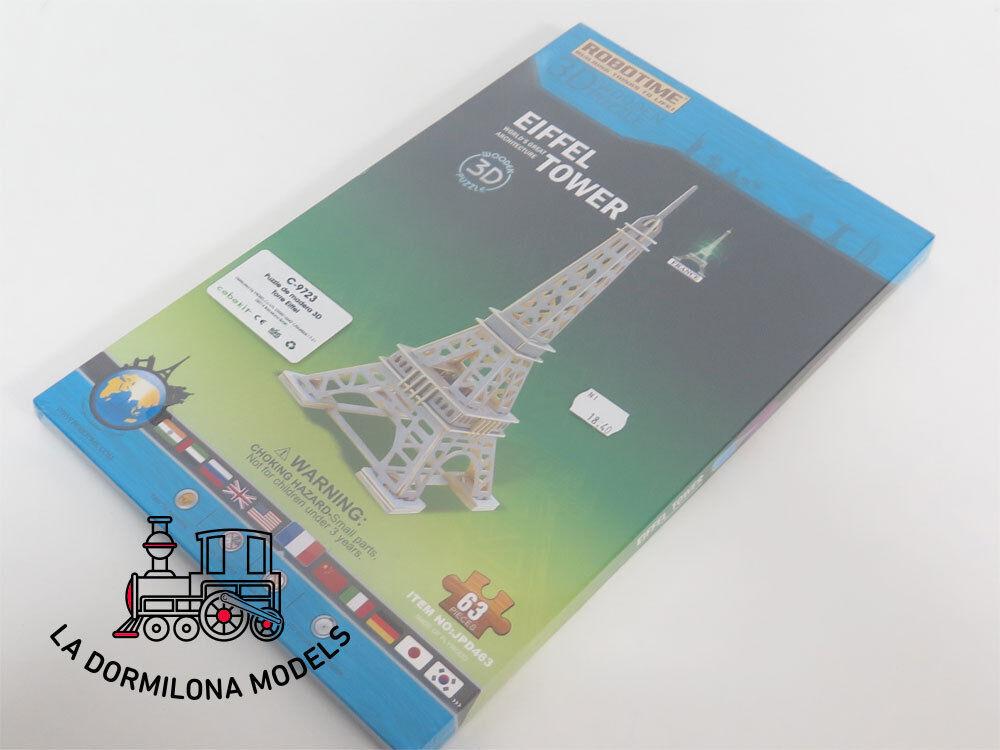 EDK3 ROBOTIME EIFFEL C-9723 3D TORRE EIFFEL ROBOTIME PUZLE DE MADERA 916ba4