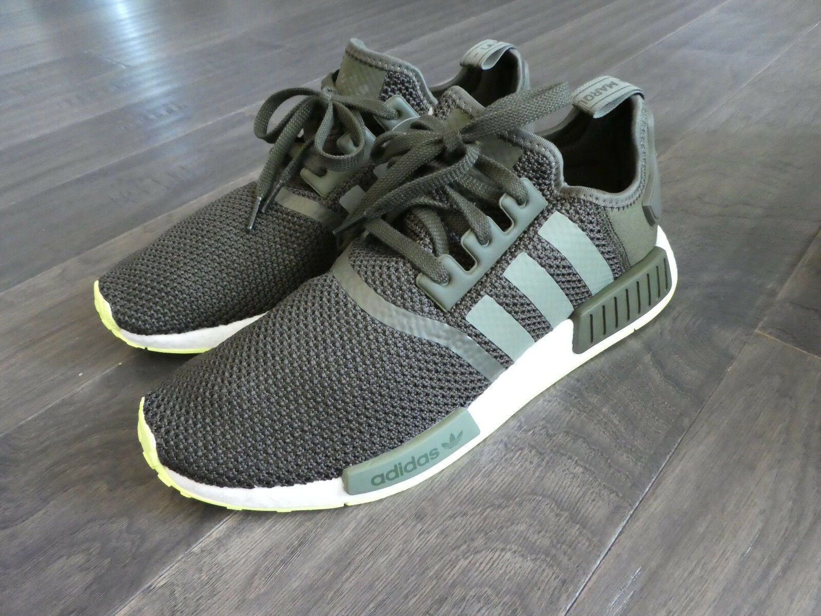 Adidas NMD_R1 Boost shoes sneakers new CQ2414 Cargo Green Lime