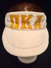 543172b4 item 5 RARE Vintage Pi Kappa Alpha PIKE Adjustable Visor Cap Hat White  Yellow 80's Frat -RARE Vintage Pi Kappa Alpha PIKE Adjustable Visor Cap Hat  White ...