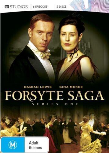 1 of 1 - The Forsyte Saga : Season 1 (DVD 2012 2-Disc Set) New ExRetail Stock Genuine D66