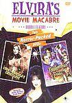 Elviras Movie Macabre - Count Draculas Great Love/Frankensteins Castle of Freaks (DVD, 2006, 2-Disc Set)