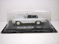 COCHE MERCEDES 230 SL 1963  1:43 METAL CAR SEAT MINIATURA ITALIA ITALY