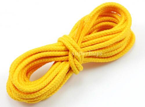 "Yellow 150cm Long Hiking Trekking Shoe Work Boot Laces Trek Hike 60"" 67 Eyelet"