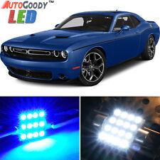 12 x Premium Blue LED Lights Interior Package for Dodge Challenger 08-17 + Tool
