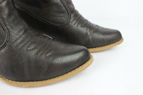 Tbe T Marron 37 Cuir Bottines wqIfPP