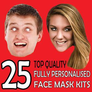 25-Personalizado-Mascaras-por-Encargo-Foto-Tarjeta-Barato-Self-Recortado-Kit