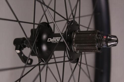 "Velocity Dually 26/"" Disc Brake Bike Mountain Bike Wheelset Shimano 32h 100-135mm"