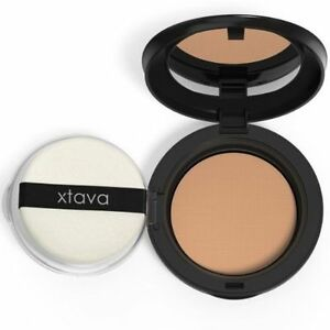 Image is loading Xtava-Perfect-Skin-Caramel-Powder-Pact-Light-Coverage-