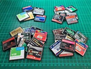 Misto 1GB 2GB 4GB 8GB CF Compact Flash Memory Card per DSLR fotocamere e tastiere