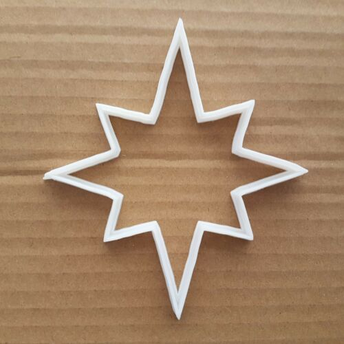 Star North NATIVITY beau forme cookie cutter Dough Biscuit Pastry Crème Sharp