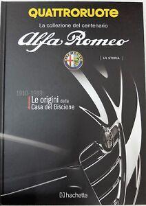 LIBRO-RIVISTA-BOOK-QUATTRORUOTE-ALFA-ROMEO-MODELO-COCHE-CAR-MODELO-MINIATURAS