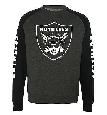 EAZY E 'Ruthless' Sweatshirt - Hip Hop, NWA, Raiders, Ice Cube, Rap, L.A Sweater