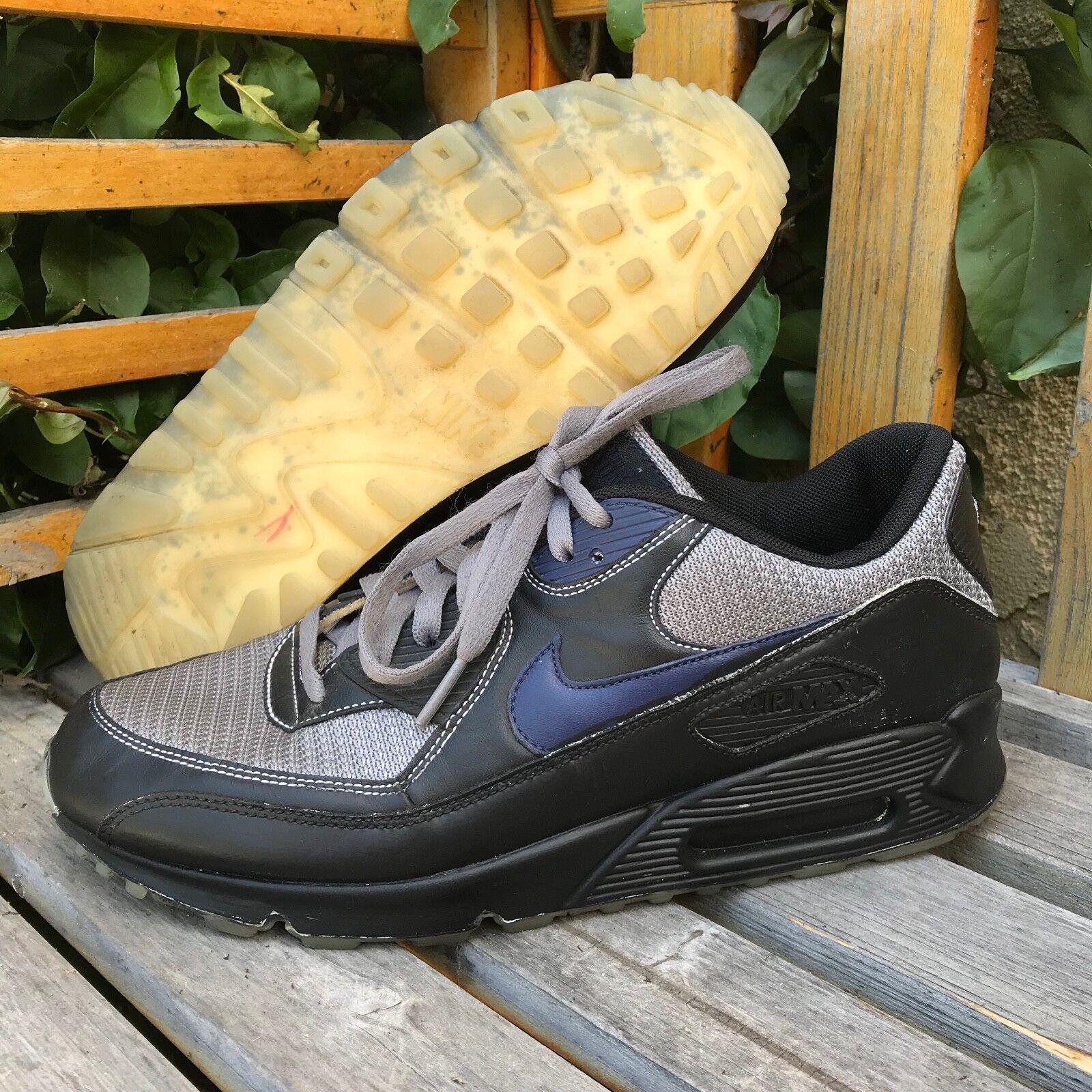 "NIKEiD Nike Air Max Custom ""West Coast"" Black Sneakers - Comfortable"