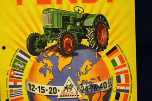 VK folleto Hanomag R 12 combitrac Org