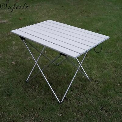 Portable Foldable Table Outdoor BBQ Ultralight Aluminum Alloy Camping Equipment