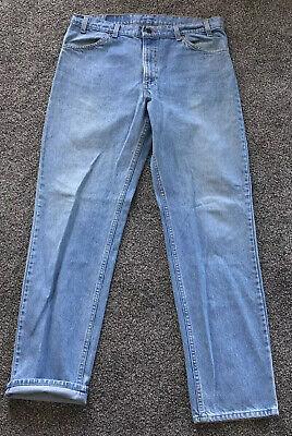 Vintage Levi's 506 Regular Fit Straight Leg Blue Jeans Size 38x34 Big & Tall 80s | eBay