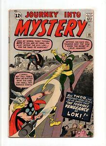 Journey into Mystery #88 VINTAGE Marvel Comic KEY 2nd Loki App Silver Age 12c