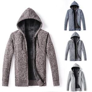 2018-Mens-Knitting-Hooded-Hoodies-Warm-Thick-Sweatshirts-Casual-Zipper-Coats-HOT
