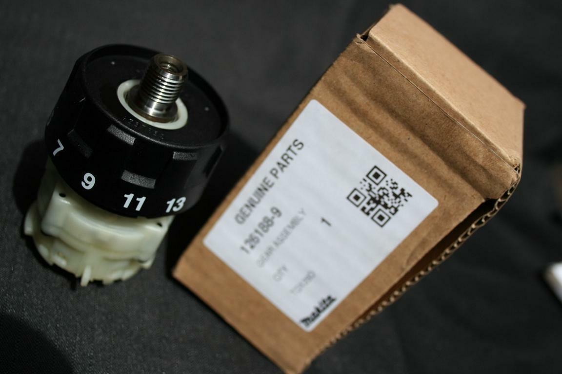 126188-9 pour bdf459 et ddf459 Makita pièce de rechange Boîte de vitesses complet