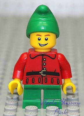 CHRISTMAS #04 Lego Elf Santa/'s Helper NEW Genuine Lego Xmas Holiday