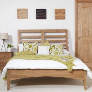 promo code b85f4 fc3e5 Details about Edward Hopper oak double bed 4ft6,Double bed frame,wooden  slats, Quality oak bed