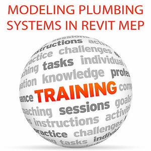 Details about Modeling Plumbing Systems in REVIT - Video Training Tutorial  DVD