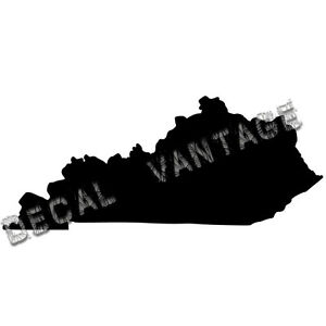 Kentucky-Vinyl-Sticker-Decal-State-KY-Choose-Size-amp-Color