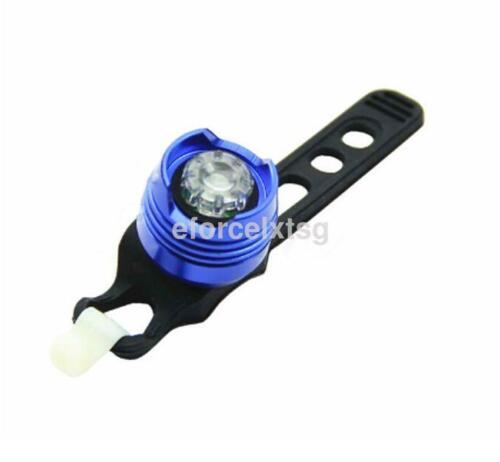 1X Cycling Bike Bicycle White//Red Light LED Front Rear Safety Warning Lamp US