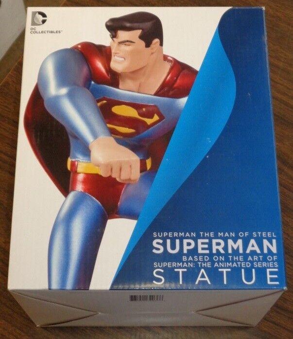 Superman Man of Steel Superman Based On Art of Animated Series 7.5  Statue