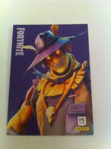 Panini Fortnite EPIC Sammel Karte Nr 218 Outfit Hay Man KEINE HOLO
