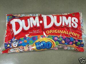 Image Is Loading Spangler Dum Dums Pops Lollipops 500 Ct