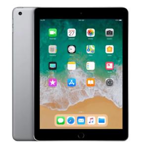 Apple iPad 2018 6 Generation 9,7 Zoll A1893 Wi-Fi Wlan 128GB Spacegrau wie Neu