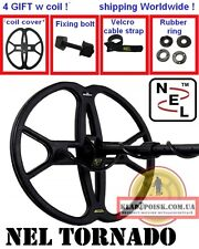 "Coil NEL TORNADO 5th Gen 12""x13"" metal detector FISHER F-5 Gold Bug F11 F22 F44"