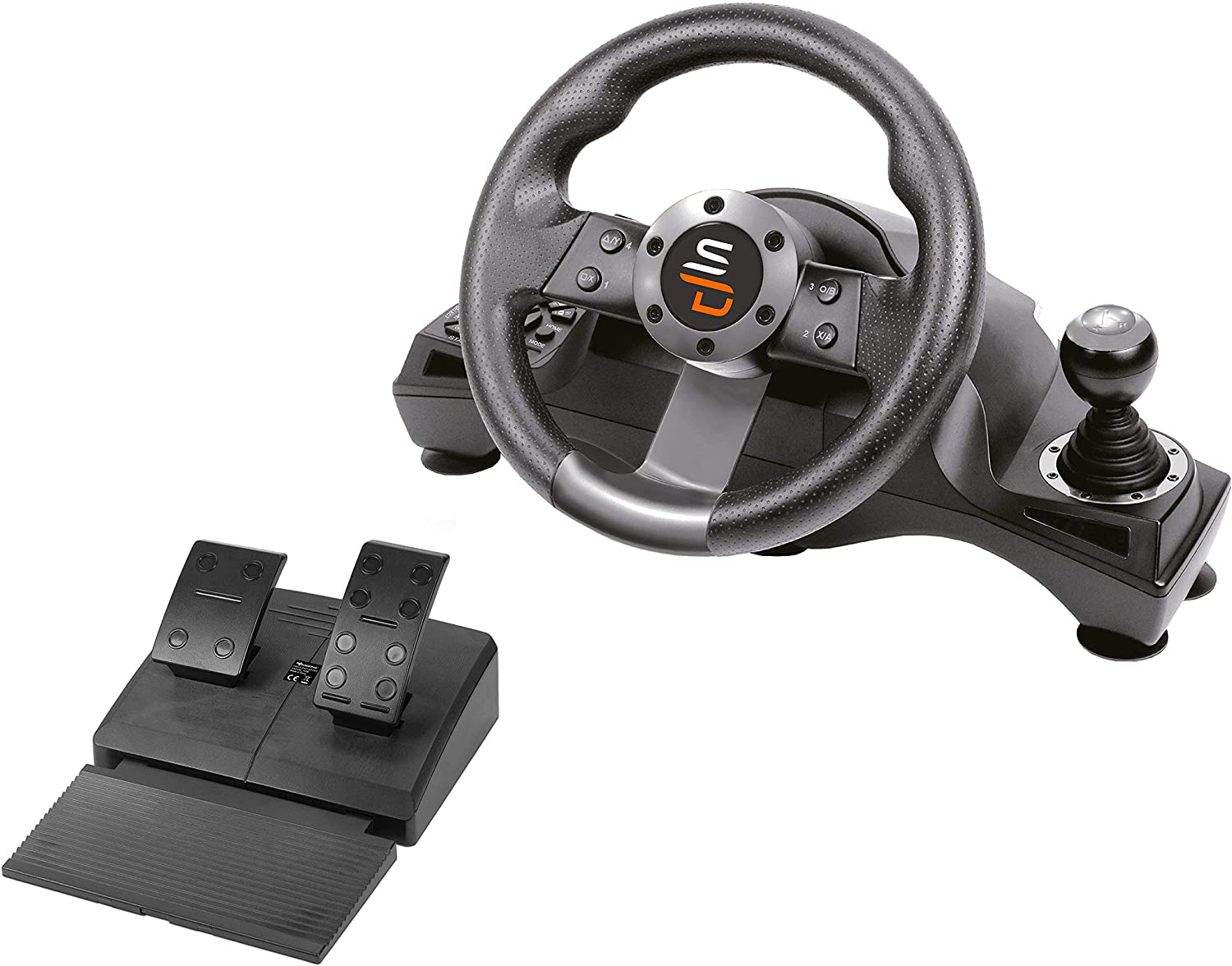 PS4 Gaming Racing Steering Wheel For PS4 Car Steering Wheel Driving Controller Playstation 4 Accessories
