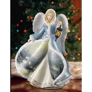 Angel of Light Illuminated Figurine Winter Angels of Light Thomas Kinkade