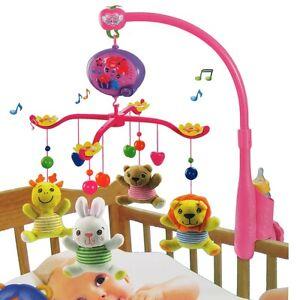 Musikmobile Spieluhr Musikuhr Einschlafhilfe Mobile Kinderbett Baby