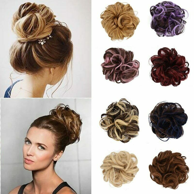 (New arrival-Red )Easy-To-Wear Stylish Hair Scrunchies 38 Colors