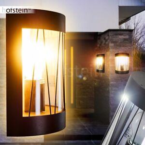 Schwarze Hof Veranda Terrassen Lampen Aussen Wand Leuchten Garten