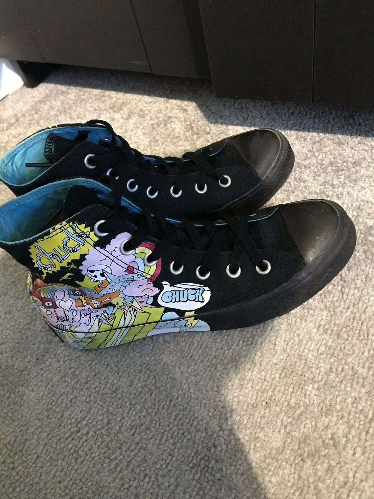 damen Or Mens Rainbow Converse Trainers, Uk 6, 6, 6, Limited Edition b1a7af
