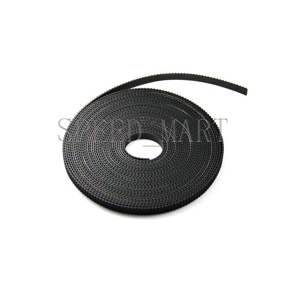 1m T5 Timing belt 7mm//GT2 Timing Belt 6mm wide for pulley RepRap Prusa Mendel